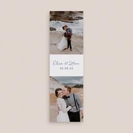 Carte de remerciement mariage Sous la voûte étoilée, 2 en 1 gratuit