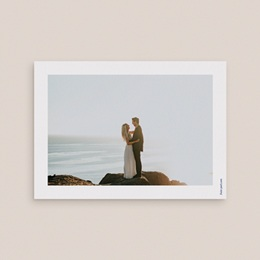 Carte de remerciement mariage Sous la voûte étoilée 14 cm x 10 cm pas cher