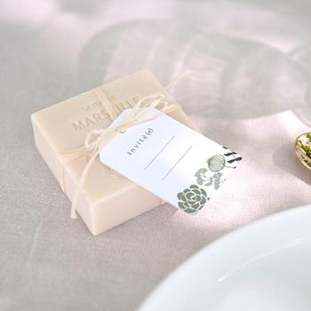 Marque-place mariage Matcha, invité