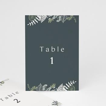 Marque table mariage Matcha, 3 repères