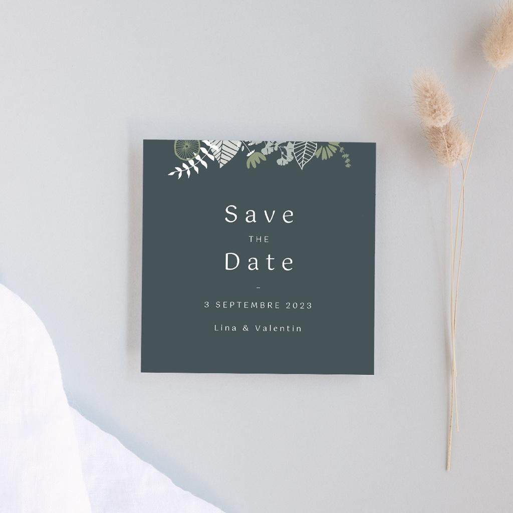 Save-the-date mariage Matcha