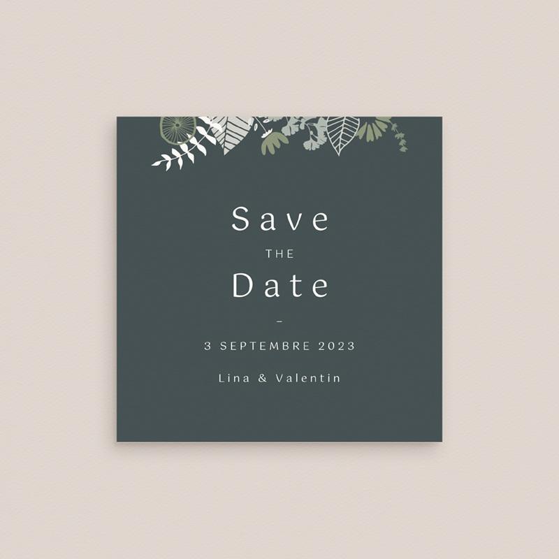 Save-the-date mariage Matcha gratuit