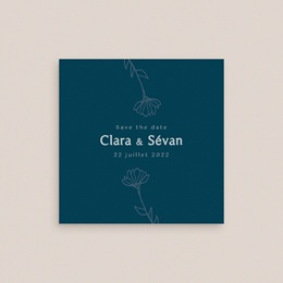 Save-the-date mariage Chabada, Jour J gratuit