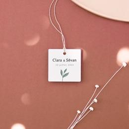 Etiquettes cadeaux mariage Chabada, cadeau