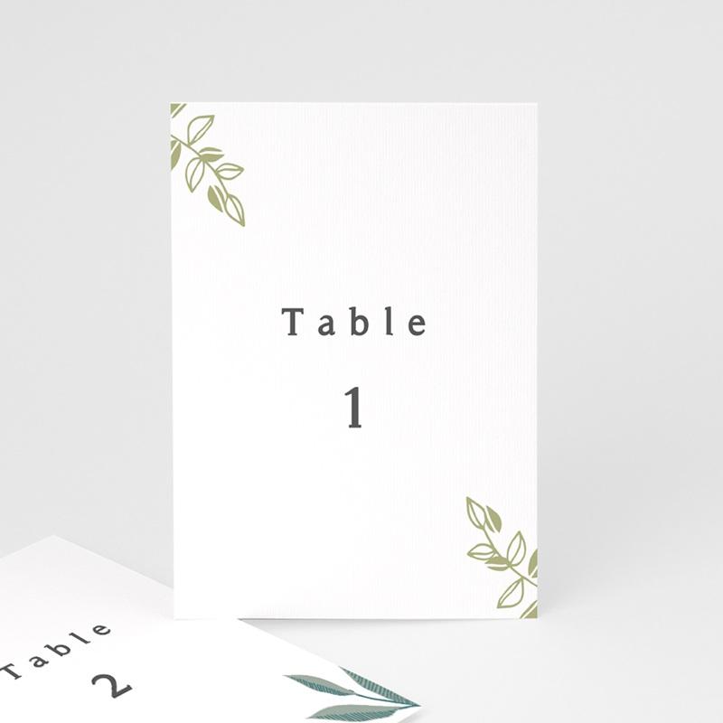Marque table mariage Chabada, 3 repères