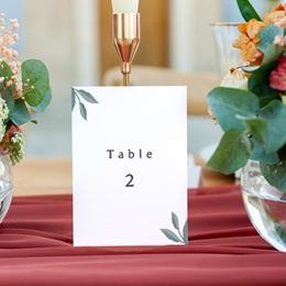 Marque table mariage Chabada, 3 repères gratuit