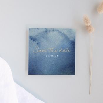 Save-the-date mariage Sous la voûte étoilée, 10 x 10
