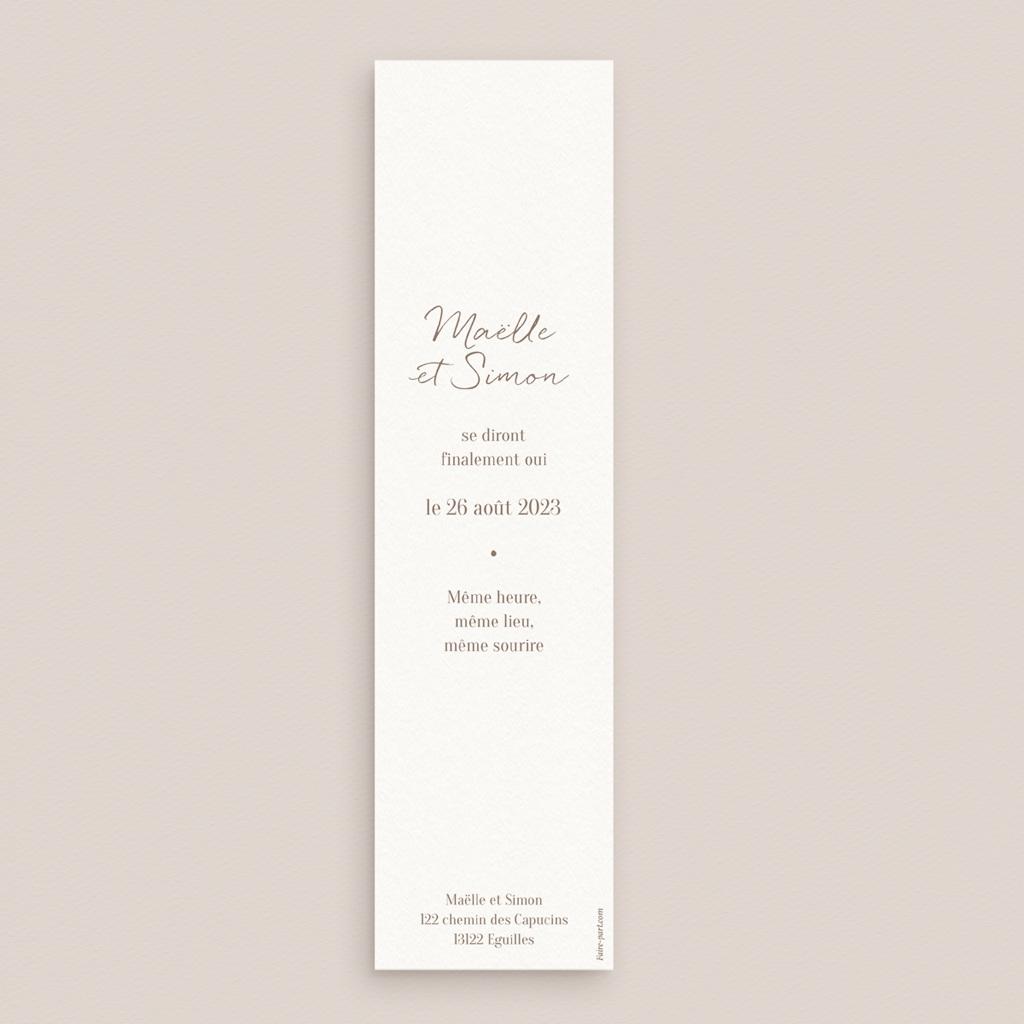 Change the date mariage Soleil de Minuit, marque-page 5,5 x 21 cm pas cher