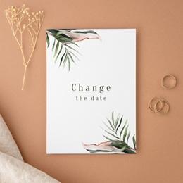 Change the date mariage Symétrie Végétale, Nouvelle Date