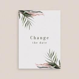 Change the date mariage Symétrie Végétale, Nouvelle Date gratuit
