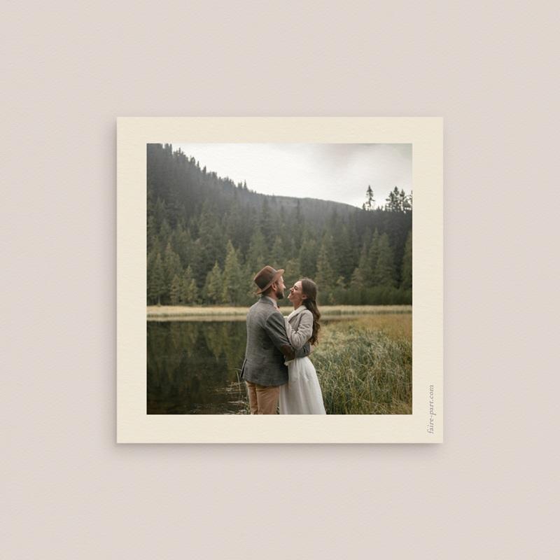 Save-the-date mariage Palme Bohème pas cher