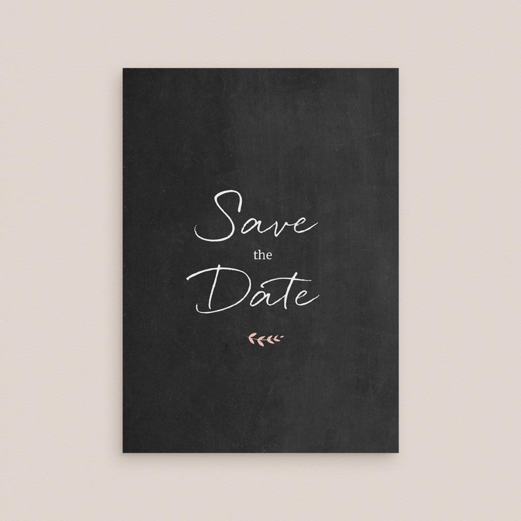 Save-the-date mariage Perfect Day Ardoise, Jour J gratuit