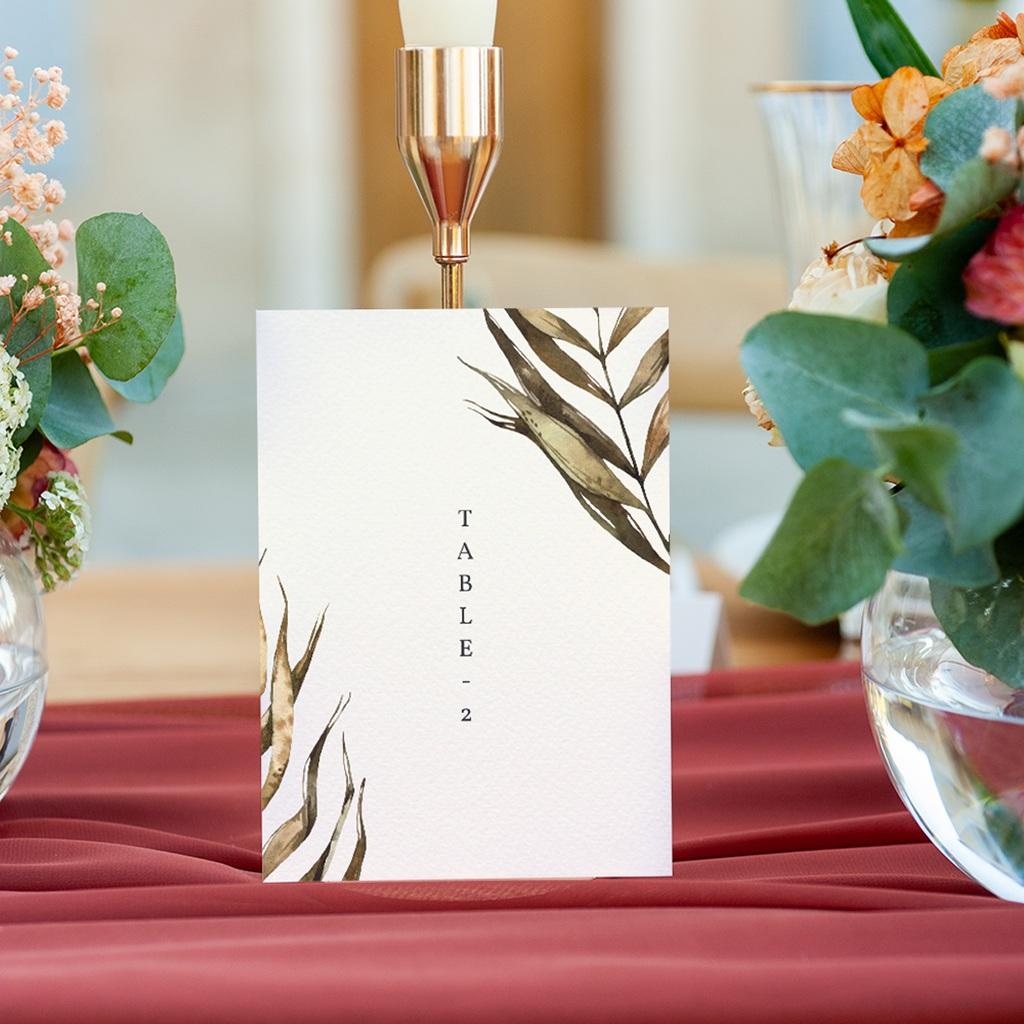 Marque table mariage Médaillon Floral, 10 x 14 (lot de 3) gratuit