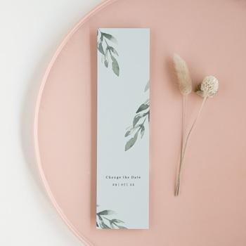 Change the date mariage Encadrement Floral, 5,5 x 21 cm