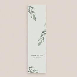 Change the date mariage Encadrement Floral, 5,5 x 21 cm gratuit