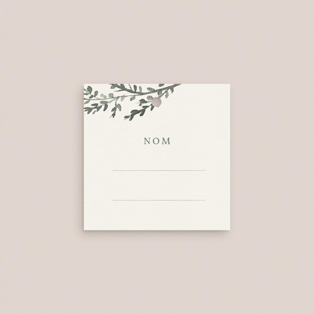 Etiquettes cadeaux mariage Encadrement Floral, 4.5 x 4.5 cm gratuit