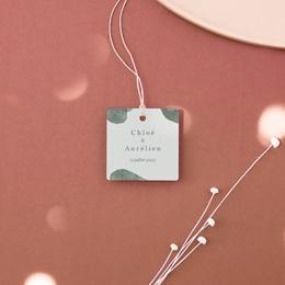 Etiquettes cadeaux mariage Encadrement floral, cadeau