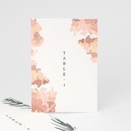 Marque table mariage Encadrement Floral, 10 x 14 (lot de 3)