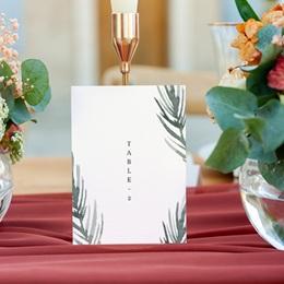 Marque table mariage Encadrement Floral, 10 x 14 (lot de 3) gratuit