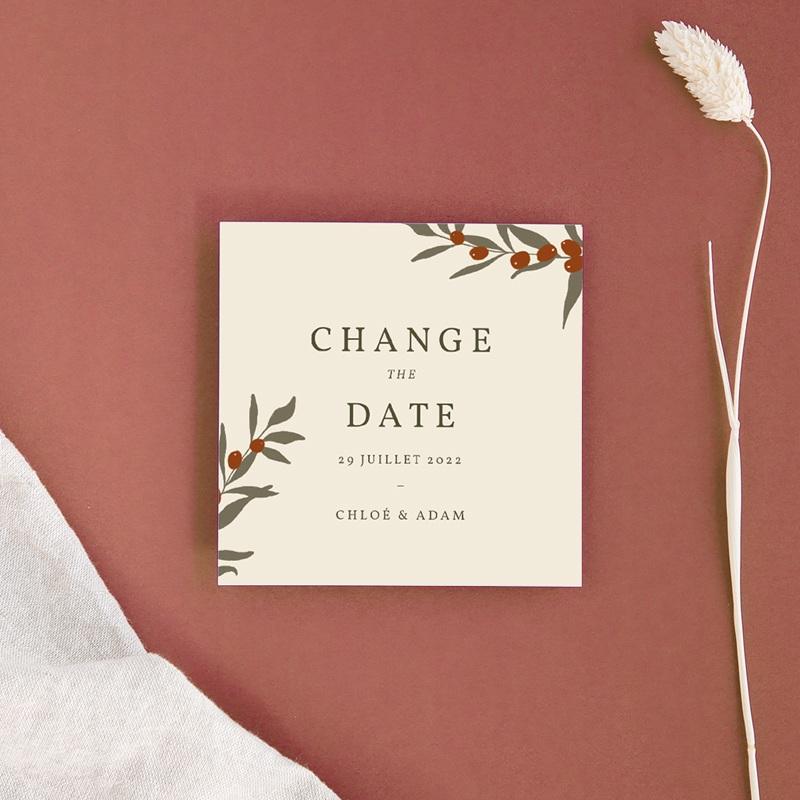 Change the date mariage Olivier Boho, changement de date