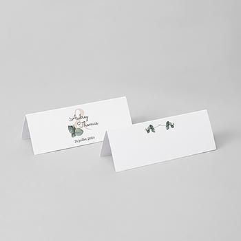 Marque-place mariage Liège d'Eucalyptus