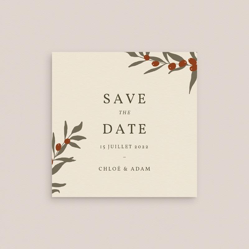 Save-the-date mariage Olivier Boho, Date Jour J gratuit