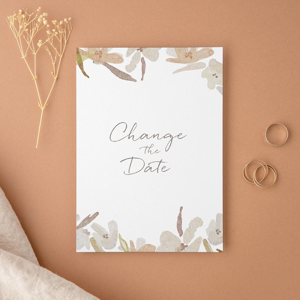 Change the date mariage Couronne de Fleurs d'Oranger, Nouvelle Date