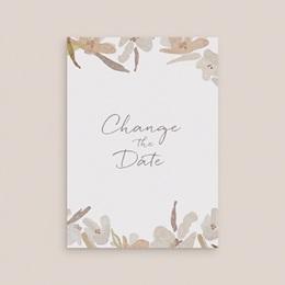 Change the date mariage Couronne de Fleurs d'Oranger, Nouvelle Date gratuit