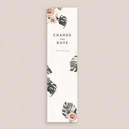 Change the date mariage Bohème Fleuri, Date nouvelle, 5,5 x 21 cm gratuit
