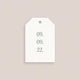 Etiquettes cadeaux mariage Monnaie du Pape & Gypsophile, Cadeau pas cher
