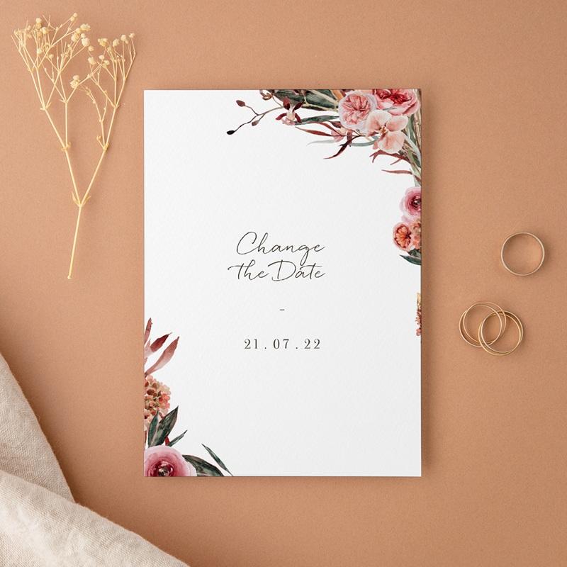 Change the date mariage D-Day, Arche de fleurs pourpres