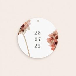 Etiquettes cadeaux mariage Souvenir, Arche de fleurs pourpres pas cher