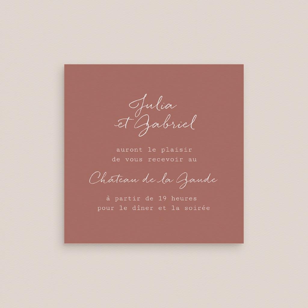 Carte d'invitation mariage Réception, Arche de fleurs pourpres gratuit