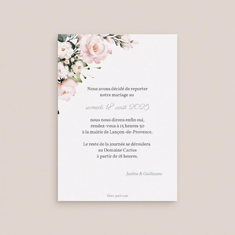 Change the date mariage Kraft et Rose, date nouvelle