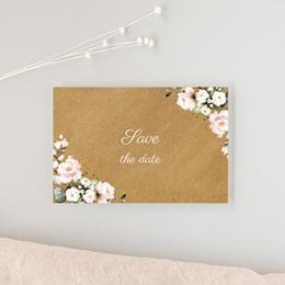 Save-the-date mariage Kraft et Rose, Jour J gratuit