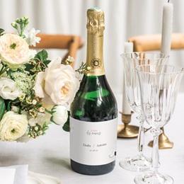 Etiquette bouteille mariage Youpi, du champagne! gratuit