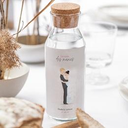 Etiquette bouteille mariage Youpi, du vin! gratuit