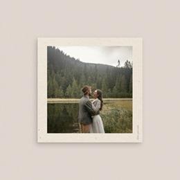 Carte anniversaire de mariage nature Brin Olivier, naturel pas cher