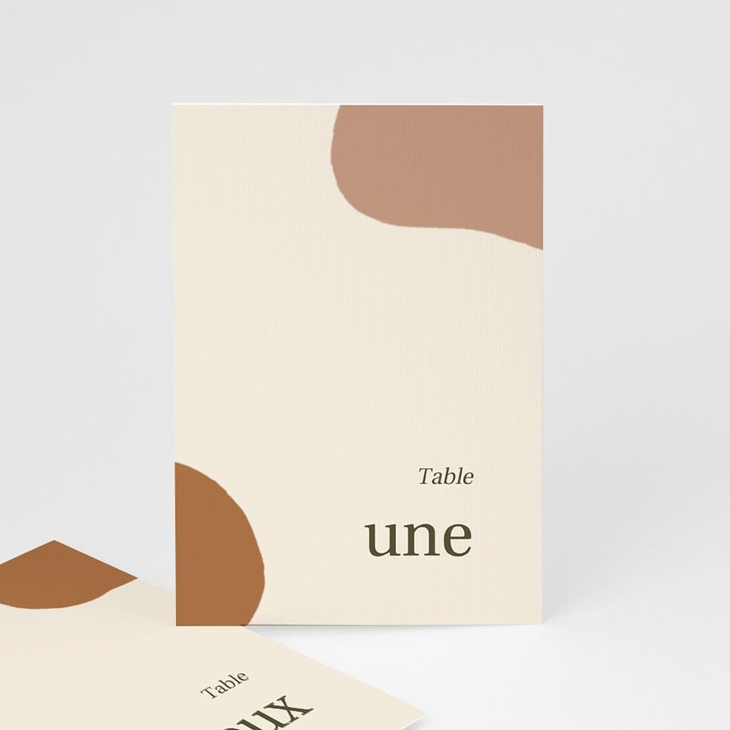 Marque table mariage Rameau bohème, Lot de 3