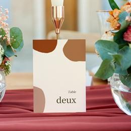 Marque table mariage Rameau bohème, Lot de 3 gratuit
