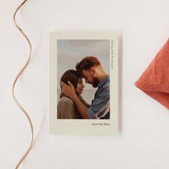Save-the-date mariage Rameau bohème, Photo, Jour J