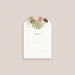 Carte de remerciement mariage nature Arche boho, végétal, invité pas cher