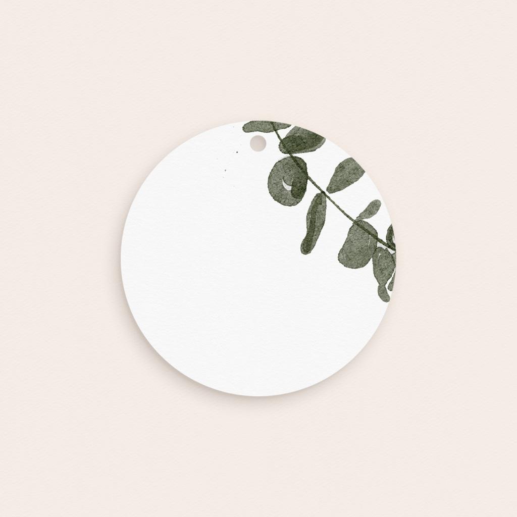 Etiquettes cadeaux mariage Eucalyptus Herbarium, cadeau souvenir pas cher