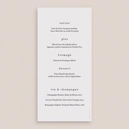 Menu mariage Eucalyptus Herbarium, repas des mariés pas cher