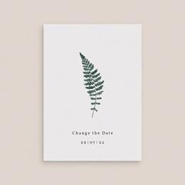 Change the date mariage Fougères Herbarium, date reportée gratuit