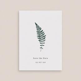 Save-the-date mariage Fougères Herbarium, Jour J gratuit