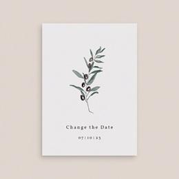Change the date mariage Olivier Herbarium, date reportée gratuit