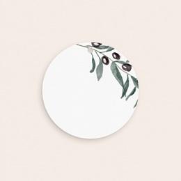 Etiquettes cadeaux mariage Olivier Herbarium, cadeau souvenir pas cher