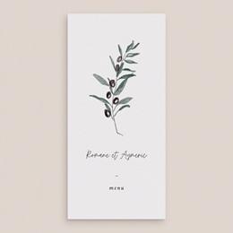 Menu mariage Olivier Herbarium, Dîner des Mariés gratuit