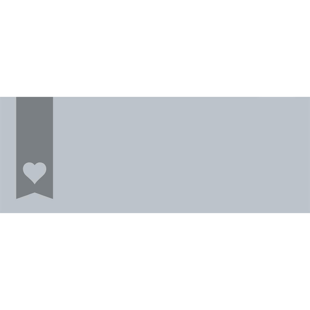 Marque-place mariage Mille fois oui gris gratuit